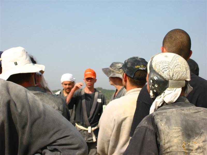 akban veterans organizing before the 24 in budo ninjutsu, 2004